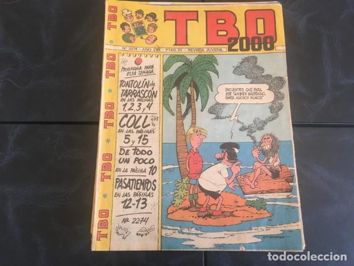 Tebeos: comic TBO 2000 año LXI -LXII - LXIII -Nº 2251 -2264 -2269 -2274 -2308 - 2322 -2350 -2354 - Foto 7 - 212915271