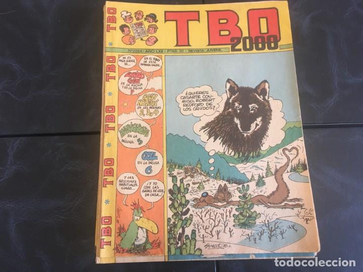Tebeos: comic TBO 2000 año LXI -LXII - LXIII -Nº 2251 -2264 -2269 -2274 -2308 - 2322 -2350 -2354 - Foto 8 - 212915271