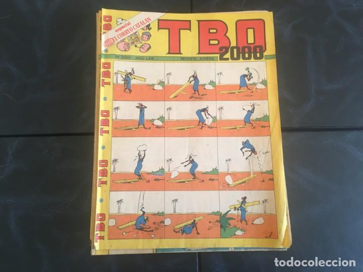 Tebeos: comic TBO 2000 año LXI -LXII - LXIII -Nº 2251 -2264 -2269 -2274 -2308 - 2322 -2350 -2354 - Foto 9 - 212915271