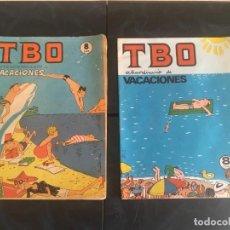 Tebeos: COMIC TBO EXTRAORDINARIO DE VACACIONES 1975 Y1976. Lote 212917446