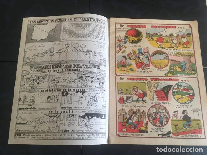 Tebeos: comic TBO extraordinario de vacaciones 1975 y1976 - Foto 3 - 212917446