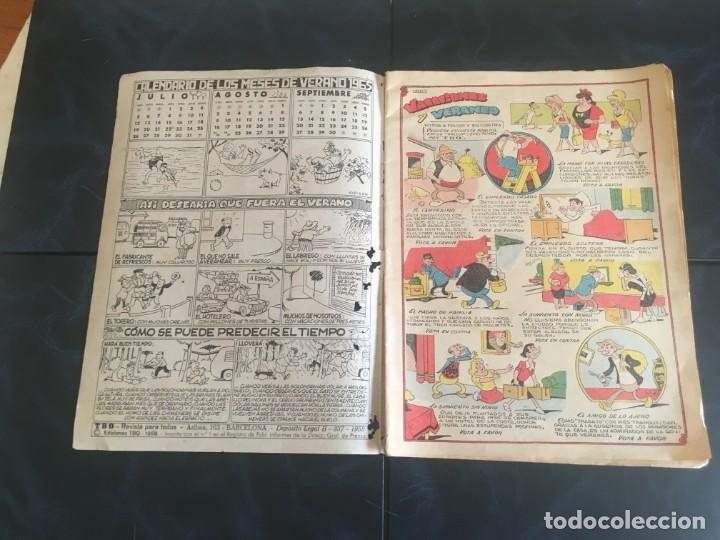 Tebeos: comic TBO extraordinario de vacaciones 1975 y1976 - Foto 5 - 212917446