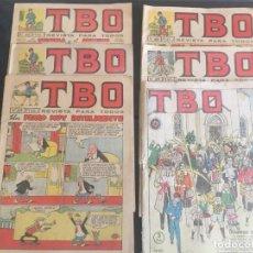 Tebeos: COMIC TBO AÑO 1965 Nº 392 - 399 -418 -420 -425 - Y DOMINGO DE RAMOS. Lote 212918403