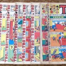 Tebeos: TBO Nº 720, 737, 743, 747, 750, 753, 755, 760, 768 Y 769 (BUIGAS, ESTIVILL Y VIÑA 1972) 10 TEBEOS.. Lote 198101570