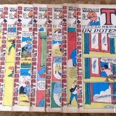 Tebeos: TBO Nº 771, 773, 774, 776, 777, 780, 784, 788 Y 789 (BUIGAS, ESTIVILL Y VIÑA 1972) 9 TEBEOS.. Lote 198100077