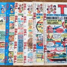 Tebeos: TBO Nº 2031, 2032, 2110, 2134, 2138, 2151, 2177 Y 2188 (BUIGAS, ESTIVILL Y VIÑA 1973/76) 8 TEBEOS.. Lote 198098740