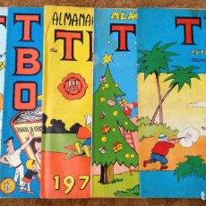 Tebeos: TBO EXTRA MORCILLON Y BABALI, DEDICADO AL LIBRO Y VACACIONES + ALMANAQUE 1967, 1970 Y 1971. 6 TEBEOS. Lote 198098592