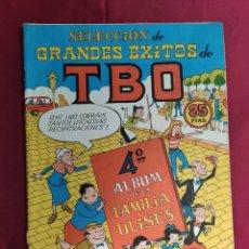 BDs: SELECCION DE GRANDES EXITOS DE TBO. 4º ALBUM DE LA FAMILIA ULISES. BUIGAS. Lote 213797671