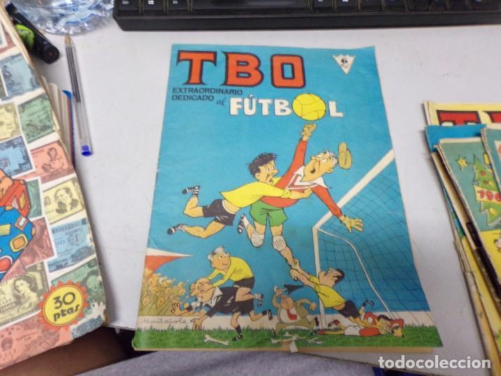 TBO EXTRAORDINARIO DEDICADO AL FUTBOL (Tebeos y Comics - Buigas - TBO)