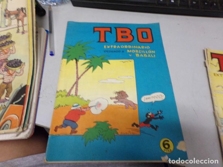 TBO EXTRAORDINARIO DEDICADO A MORCILLON Y BABALI (Tebeos y Comics - Buigas - TBO)