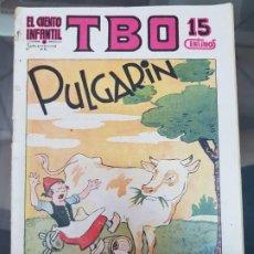 Tebeos: EL CUENTO INFANTIL SUPLEMENTO TBO PULGARIN 1936. Lote 217994492