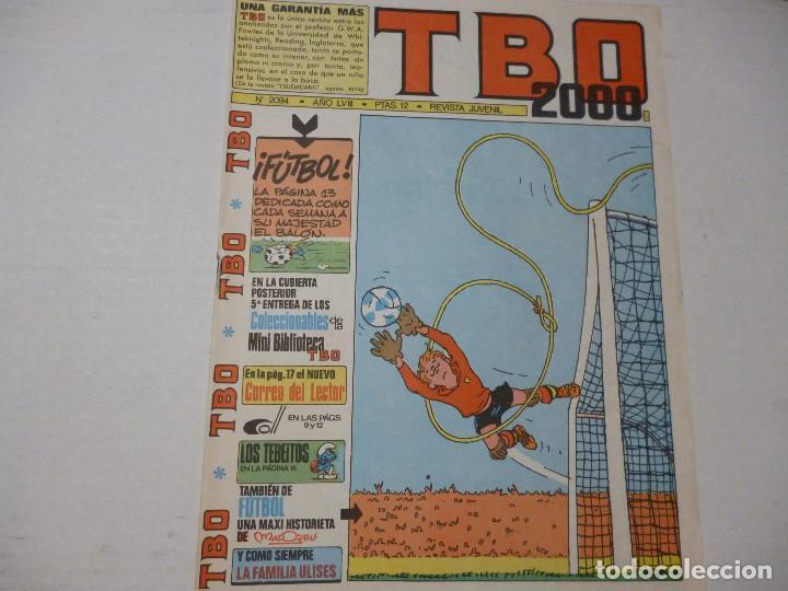 TBO - 2000 - Nº 2094 - CONTIENE 5ª ENTREGA COLECCIONABLES MINI BIBLIOTECA- (Tebeos y Comics - Buigas - Otros)