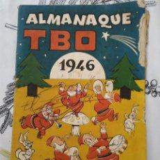 Tebeos: ALMANAQUE TBO 1946 ORIGINAL DE EPOCA. Lote 218252796