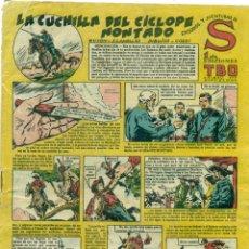 Tebeos: S DE TBO LA CUCHILLA DEL CICLOPE MONTADO. Lote 218324948