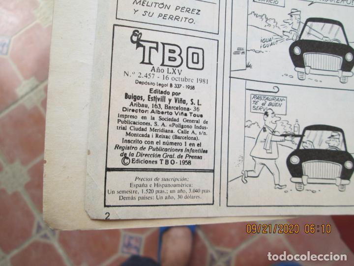 Tebeos: EXTRAORDINARIO DE TBO - SERIE AZUL - Foto 4 - 218622955