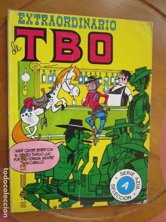 EXTRAORDINARIO DE TBO - SERIE AZUL (Tebeos y Comics - Buigas - TBO)