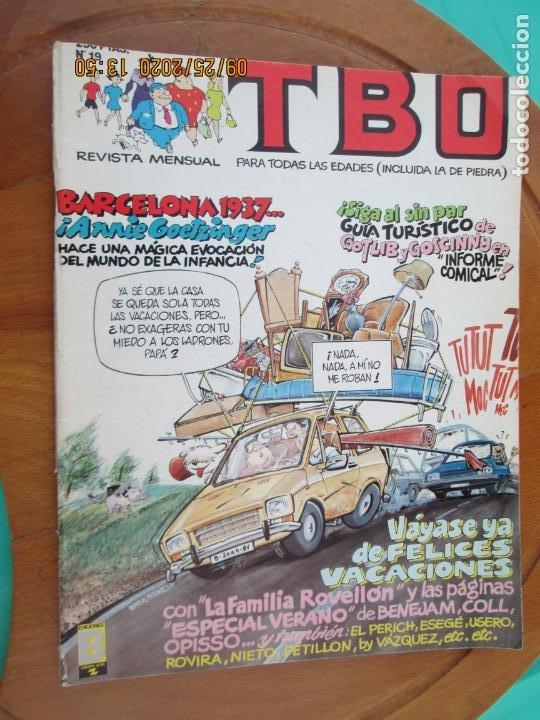 TBO Nº 19 - VAYASE DE FELICES VACACIONES - EDICIONES B 1988.- INCLUYE CUADERNILLO (Tebeos y Comics - Buigas - TBO)
