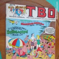 Tebeos: TBO , REVISTA MENSUAL Nº18 EDICIONES B 1988 INCLUYE CUADERNILLO. Lote 218916220