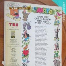 Tebeos: TBO , REVISTA MENSUAL Nº 40 EDICIONES B 1988 - INCLUYE CUADERNILLO. Lote 218916465