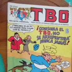 Tebeos: TBO , REVISTA MENSUAL Nº 87 EDICIONES B 1988 - INCLUYE CUADERNILLO. Lote 218916648