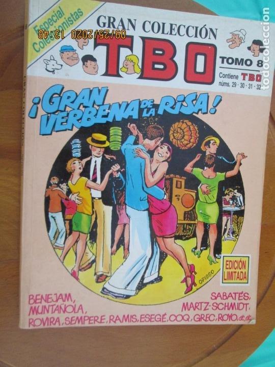 TBO GRAN COLECCION - TOMO 8 ESPECIAL COLECCIONISTAS Nº 29-30-31-32 EDICIONES B (Tebeos y Comics - Buigas - TBO)