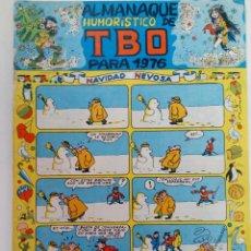 Tebeos: ALMANAQUE HUMORÍSTICO DE TBO PARA 1976. Lote 219189917
