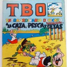 Tebeos: TBO EXTRAORDINARIO DEDICADO A LA CAZA, PESCA Y BÚSQUEDA DE SETAS (SIN USAR). Lote 219190477