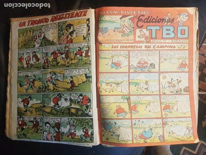 Tebeos: LOTE 28 TEBEOS/CÓMIC TOMO ORIGINAL EDICIONES TBO 1949- 1950 ENCUADERNADO ÁLBUM HUMORÍSTICO ALMANAQUE - Foto 11 - 219347090