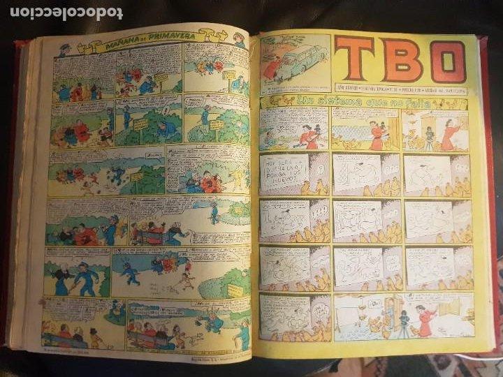 Tebeos: LOTE 26 TEBEOS/CÓMIC TOMO ORIGINAL TBO SEGUNDA ÉPOCA ENCUADERNADO ALMANAQUE 1954 (3) - Foto 10 - 219348117
