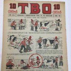 Tebeos: TBO- AÑO XVIII - 1934 - NUM.869. Lote 262809540