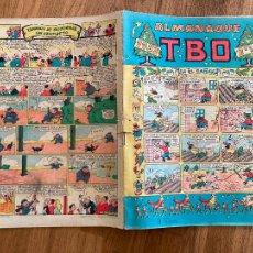 Tebeos: TBO ALMANAQUE 1953 - EN EL CANADA. Lote 220141656
