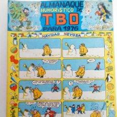 Tebeos: ALMANAQUE HUMORÍSTICO DE TBO PARA 1976 (SIN USAR, DE DISTRIBUIDORA). Lote 221929573