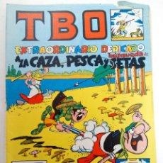 Tebeos: TBO EXTRAORDINARIO DEDICADO A LA CAZA, PESCA Y BÚSQUEDA DE SETAS (SIN USAR, DE DISTRIBUIDORA). Lote 221931902