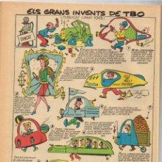 """BDs: TBO 60 ANYS. """"ARA EN CATALÁ"""" 1976 50 ANIVERSARI FESTA DEL LLIBRE. FESTES TRADICIONALS A CATALUNYA. Lote 222118603"""