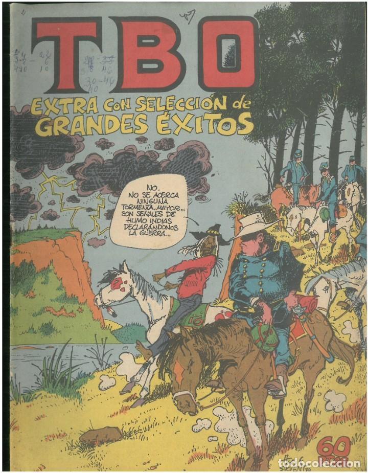 TBO. EXTRA CON SELECCION DE GRANDES EXITOS Nº 98. 60 PTA. BUIGAS. AÑO 1979. C-19 (Tebeos y Comics - Buigas - TBO)