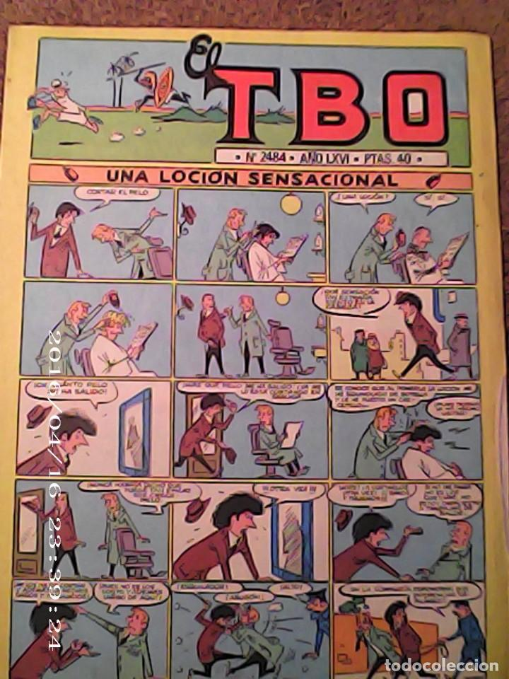 TEBEO TBO AÑO LXVI Nº 2484 (Tebeos y Comics - Buigas - TBO)