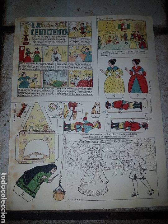 Tebeos: 4 Recortables BENEJAM Ediciones T B O de 32,5x25 - Foto 2 - 222434332