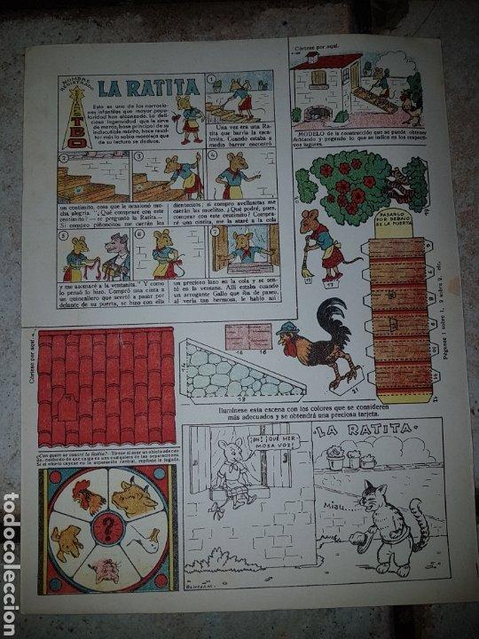 Tebeos: 4 Recortables BENEJAM Ediciones T B O de 32,5x25 - Foto 4 - 222434332