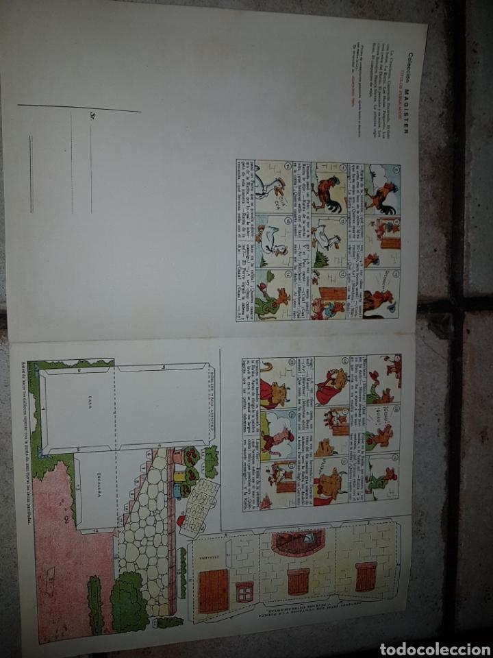 Tebeos: 4 Recortables BENEJAM Ediciones T B O de 32,5x25 - Foto 5 - 222434332