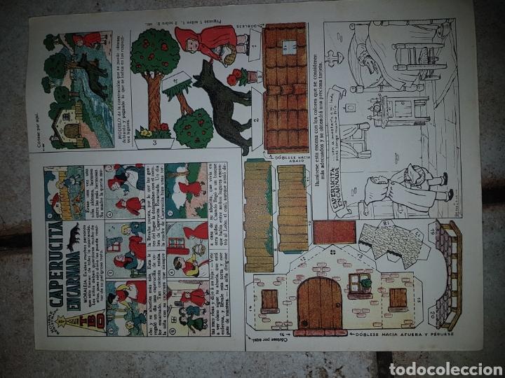 Tebeos: 4 Recortables BENEJAM Ediciones T B O de 32,5x25 - Foto 8 - 222434332