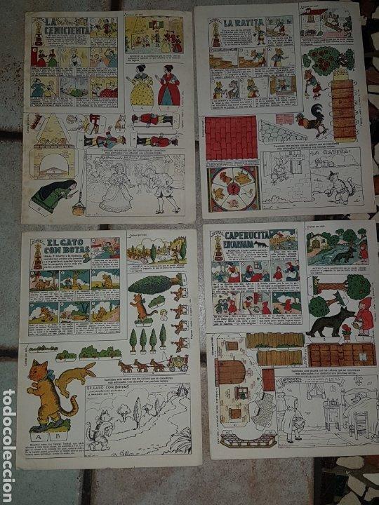 4 RECORTABLES BENEJAM EDICIONES T B O DE 32,5X25 (Tebeos y Comics - Buigas - TBO)