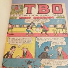 Tebeos: TBO / TOMO CON 24 NÚMEROS: ORDINARIOS, EXTRAS Y ALMANQUES / BUIGAS. Lote 222914278