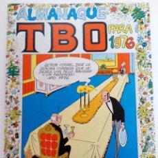 Tebeos: ALMANAQUE TBO PARA 1976 (SIN USAR, DE DISTRIBUIDORA). Lote 222931711