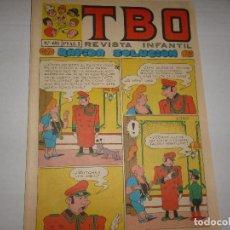Giornalini: TBO Nº 691 - RÁPIDA SOLUCIÓN - 1971. Lote 223860970