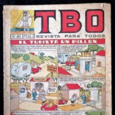 BDs: TBO Nº 457 - AÑO L - 1966 ''BUEN ESTADO''. Lote 224629793