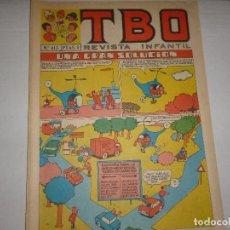 Giornalini: TBO Nº 613 - UNA GRAN SOLUCIÓN - 1958 -. Lote 224653541