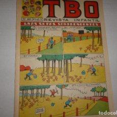Tebeos: TBO Nº 681 - UNAS SETAS SORPRENDENTES - NOVIEMBRE 1958 -. Lote 224657402