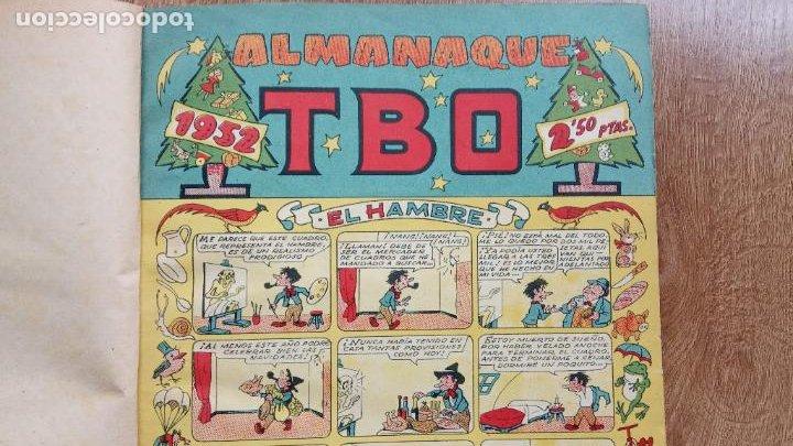 Tebeos: TBO SIN NÚMERO 26 EJEMPLARES, TBO 1952 26 EJEMPLARES, ALMANAQUE 1952,1959,HUMORISTICO 1959 - Foto 3 - 224677375