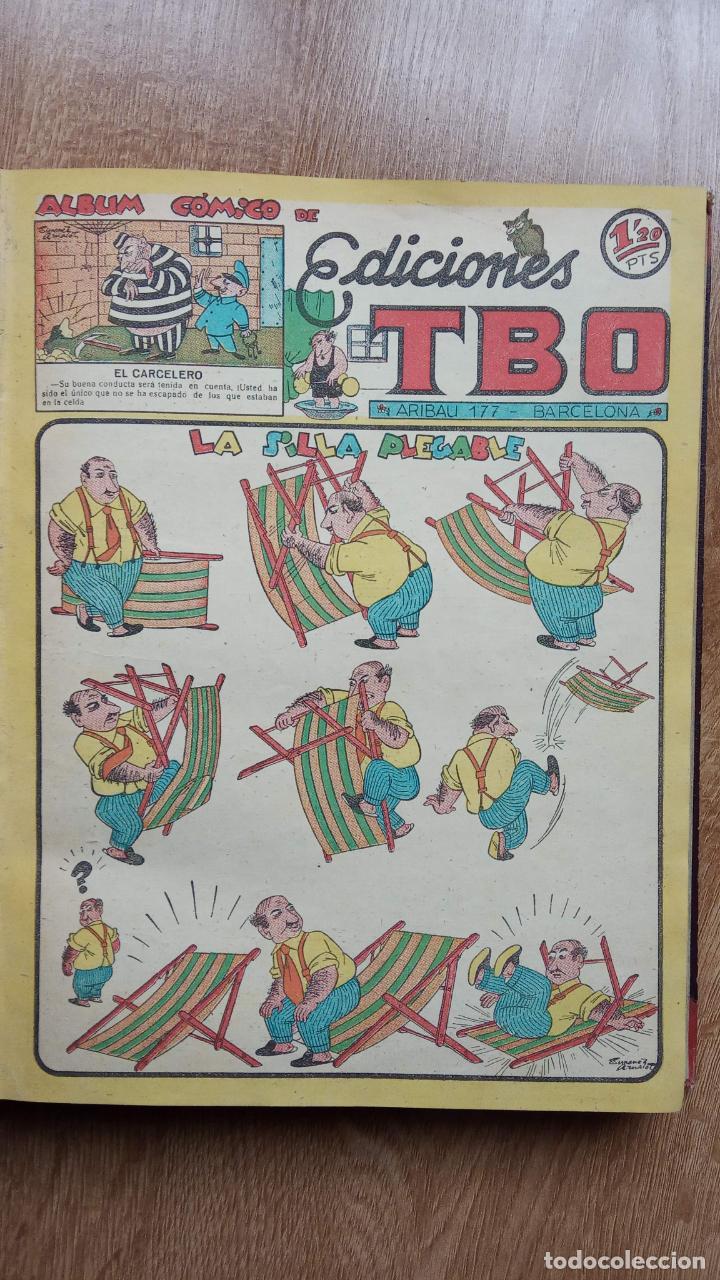 Tebeos: TBO SIN NÚMERO 26 EJEMPLARES, TBO 1952 26 EJEMPLARES, ALMANAQUE 1952,1959,HUMORISTICO 1959 - Foto 6 - 224677375