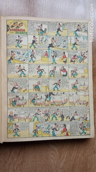 Tebeos: TBO SIN NÚMERO 26 EJEMPLARES, TBO 1952 26 EJEMPLARES, ALMANAQUE 1952,1959,HUMORISTICO 1959 - Foto 7 - 224677375